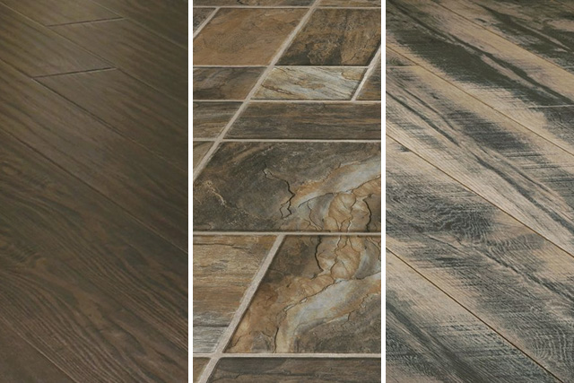 laminate tile flooring various laminate floors in wood and stone designs MBGCMCM
