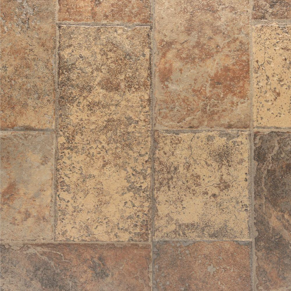 laminate tiles bruce aged terracotta 8 mm thick x 15.94 in. wide x 47.76 in. PXSFUNF