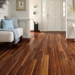 Enjoy the warmth of laminate wood floor