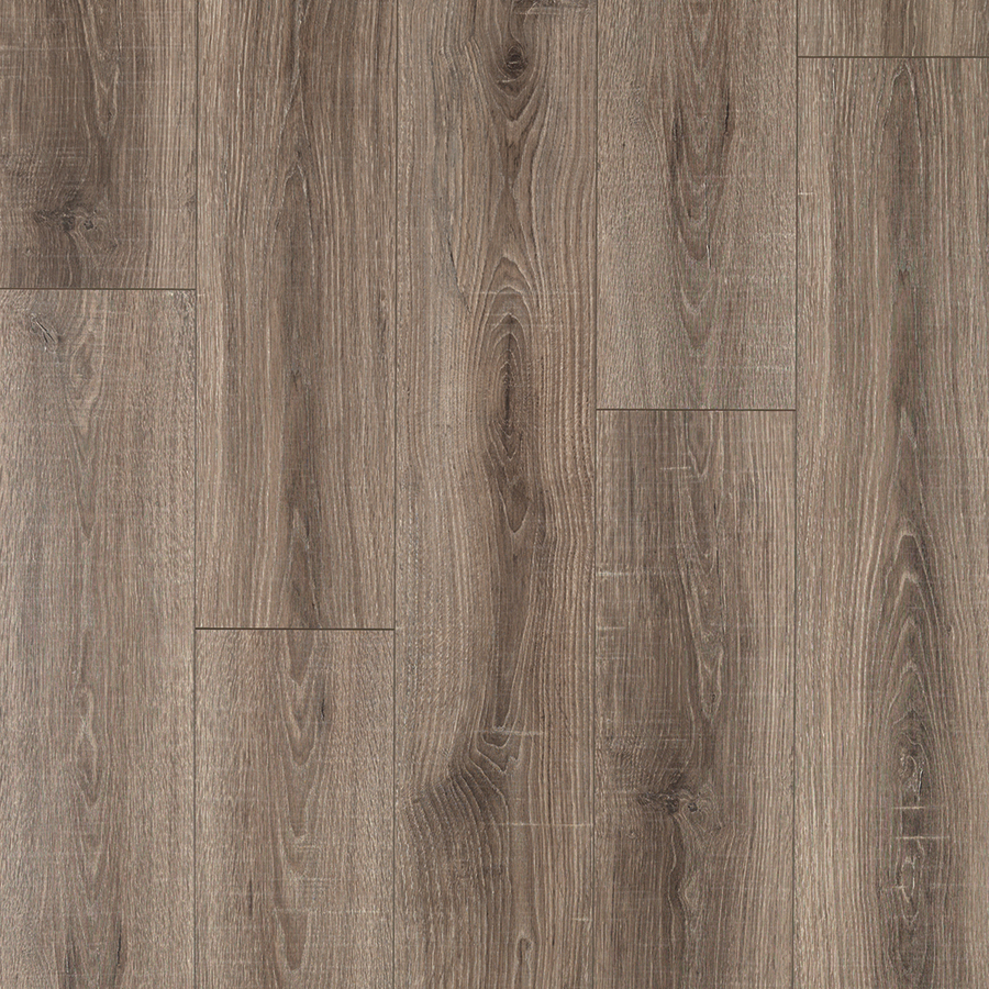 Laminate wood pergo max premier heathered oak 7.48-in w x 4.52-ft l embossed wood GJOACBR