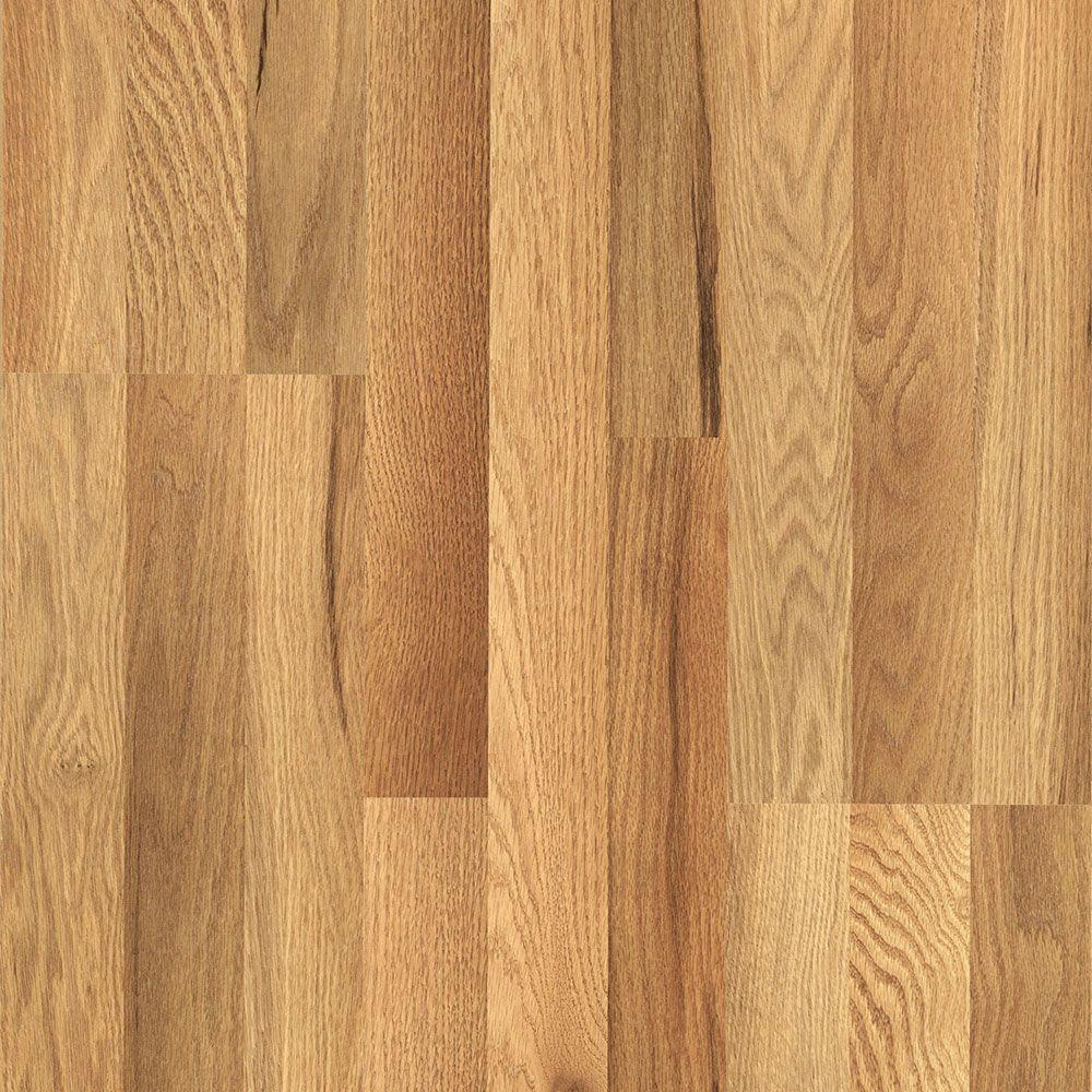 laminated wood flooring pergo xp haley oak 8 mm thick x 7-1/2 in. wide DXLATGT