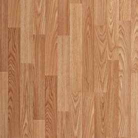 laminated wood flooring project source natural oak 8.05-in w x 3.96-ft l smooth wood plank RUYZLIC