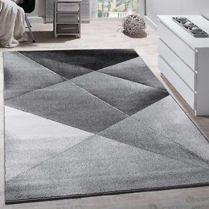 large rug image is loading modern-large-rug-grey-silver-black-carpet-living- QXMMEHO