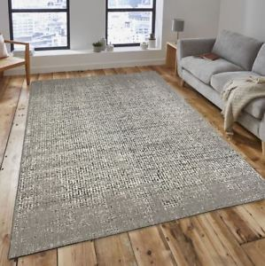 large rug image is loading new-speckle-beige-cream-black-flatweave-hard-wearing- GIFJDZK