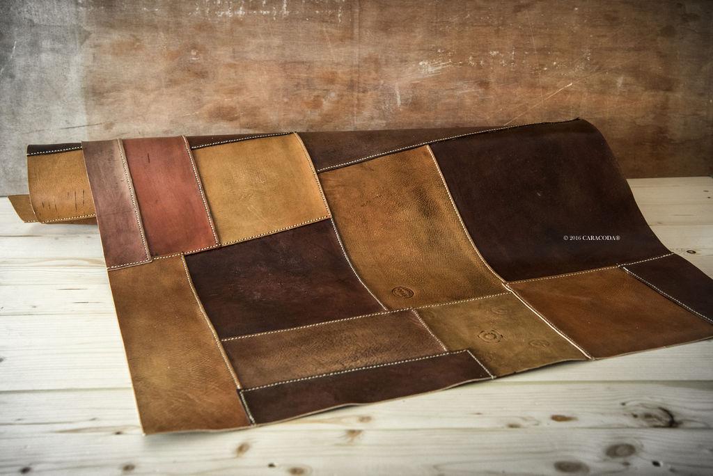 leather rug BYKKOCE