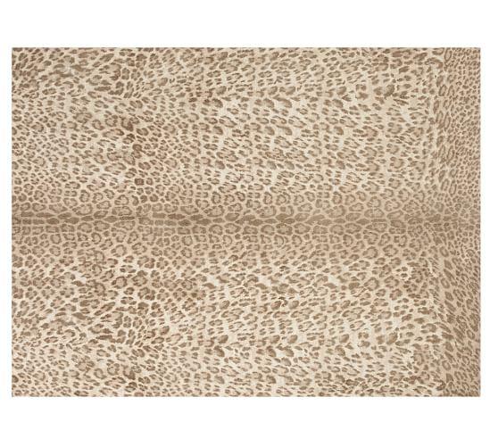 leopard rug leopard printed rug - neutral multi VHCFKMX