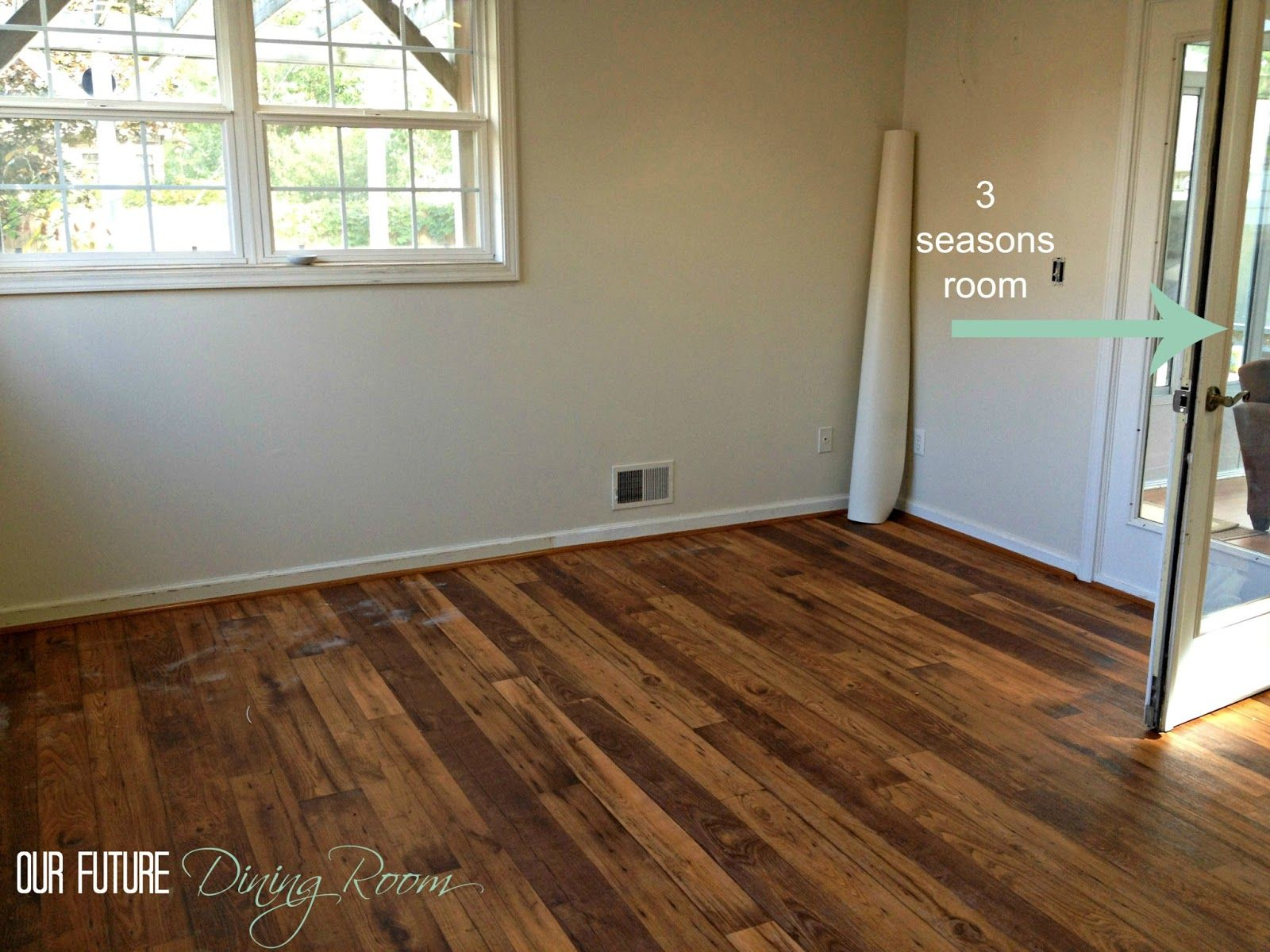 linoleum wood flooring | ... faux hardwood we went with a textured vinyl CMDGLKE