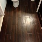 Installation of linoleum wood flooring
