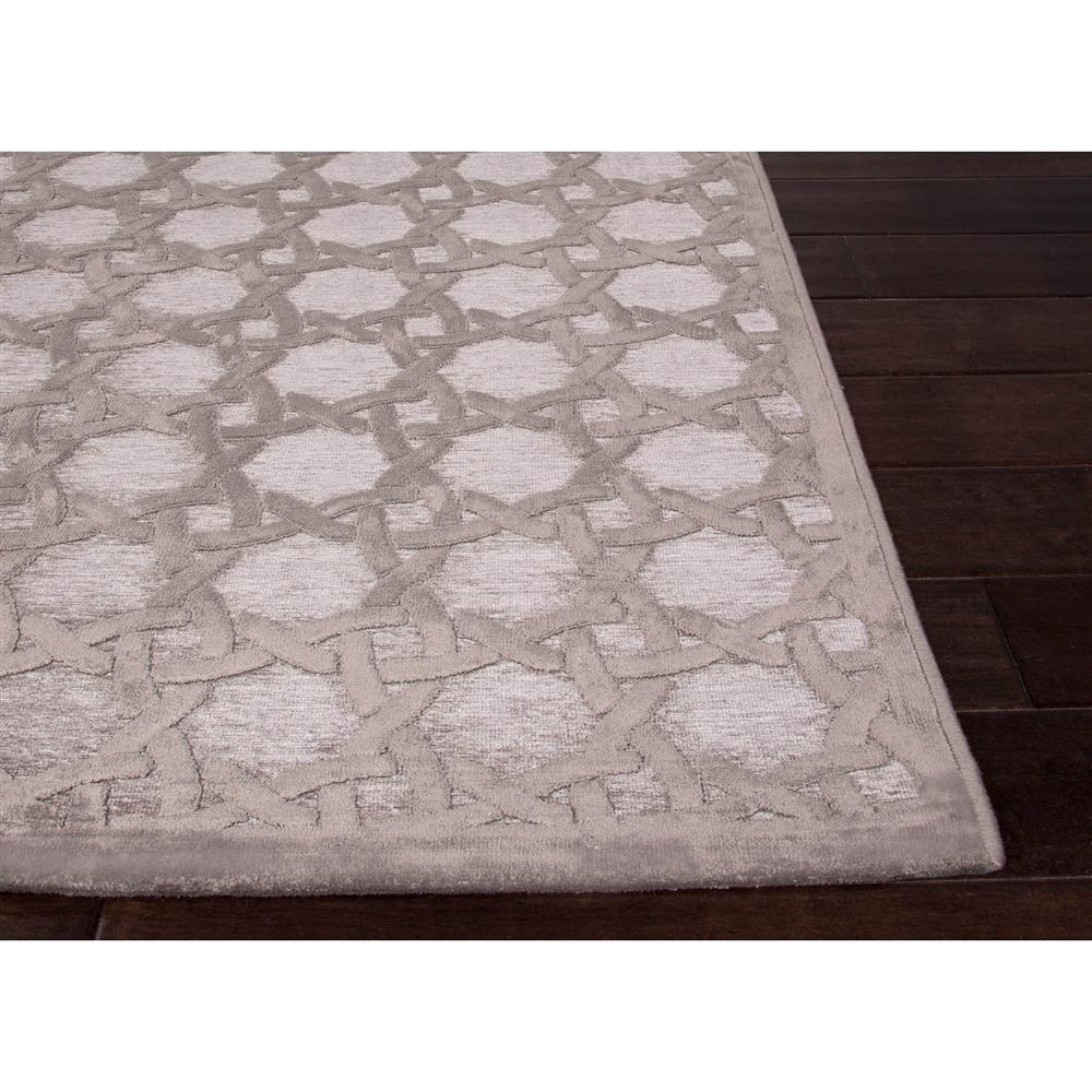 lynn regency luster lattice grey chenille rug - 5x7u00276 | kathy kuo home IYVCOXO