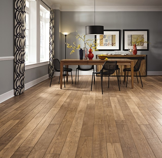 mannington laminate flooring medium laminate flooring | mannington | restoration collection  transitional-dining-room OYDEKBM
