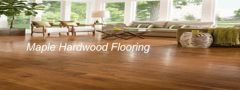 maple hardwood flooring - a solid natural flooring choice KBAAWPK