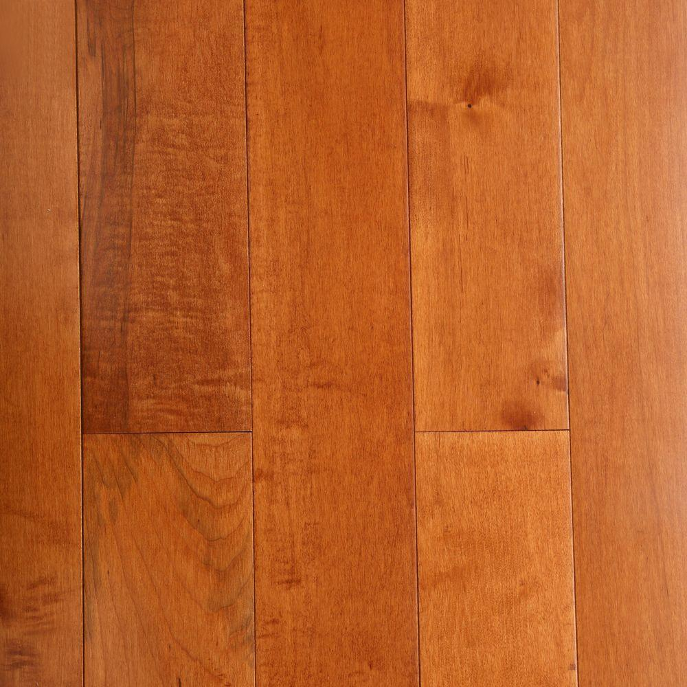 maple hardwood flooring bruce maple cinnamon 3/4 in. thick x 5 in. wide x random MAFJVMH
