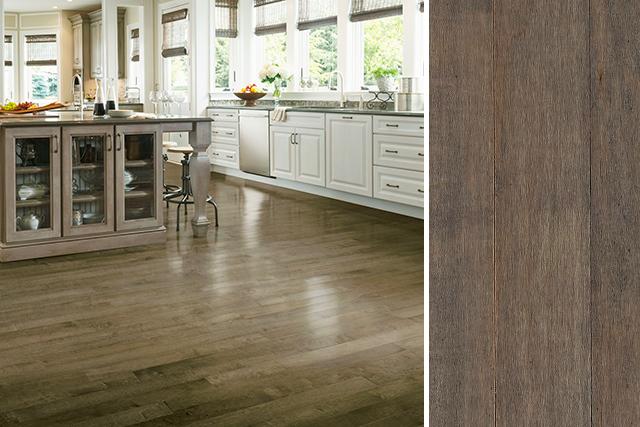 maple hardwood flooring in a kitchen - apm3408 DCNNRLX