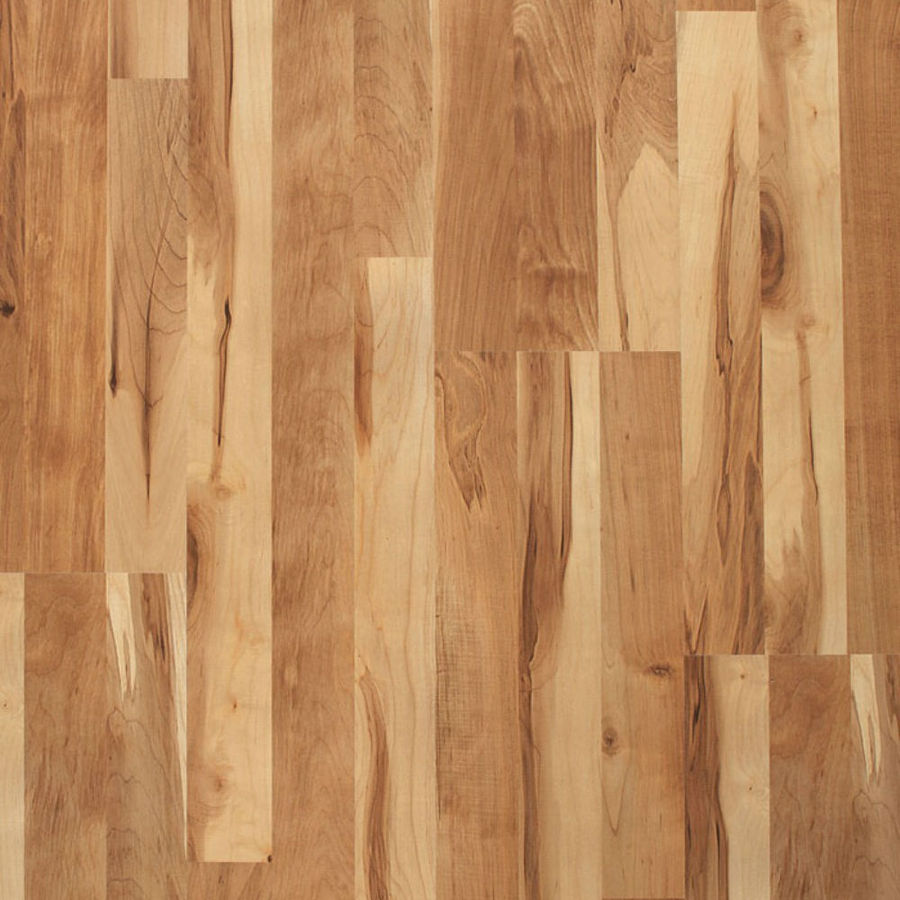 maple laminate flooring style selections natural maple 8.07-in w x 3.97-ft l smooth wood plank IFKRSTL
