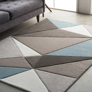 modern area rugs mott street modern geometric carved teal/gray area rug AKXTITF