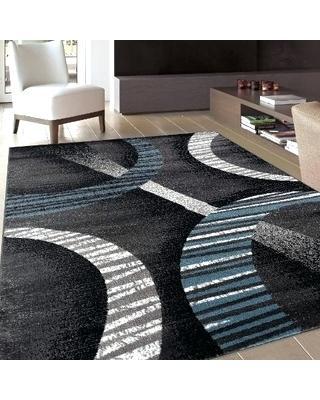 modern black area rug modern area rugs area rugs area rugs contemporary modern black blue white RELRZBC