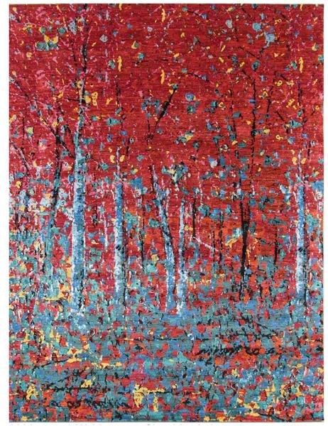 modern handmade rugs forrest hills drive - 269cm x 180cm (8-8ft x 5-9ft) MAKZEMV