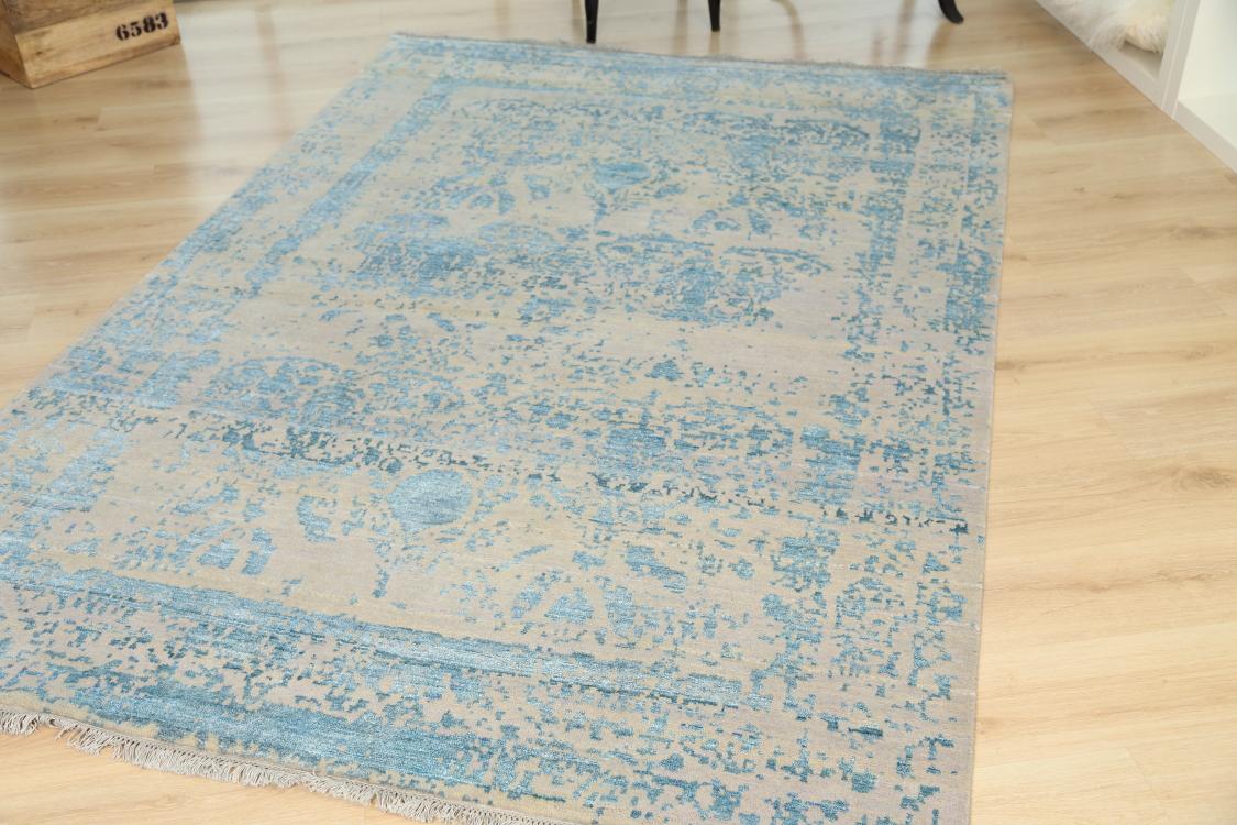 modern handmade rugs vintage erased classics handmade contemporary rug 203x246cm CSUGFUA