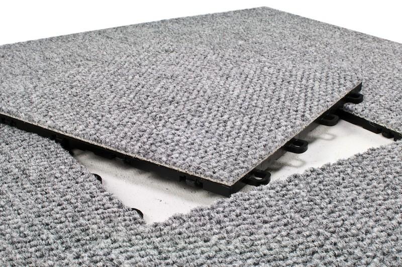 modular carpet floor tiles - gray (flooring) GYMVJIL