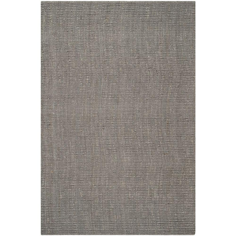 natural rugs safavieh natural fiber light grey 5 ft. x 8 ft. area rug QMVFNNQ