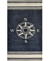 nautical rugs dynamic rugs nautical cotton rug - 2u00273 x 4u00276 (nautical 2 YUTHNSW