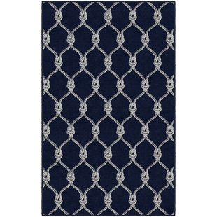 nautical rugs elio nautical rope trellis navy area rug LZIMYYR
