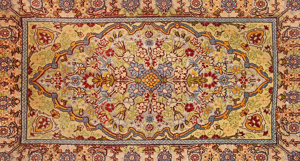 new carpet design ... example of islimi floral rug design pattern ... OHZZLJC