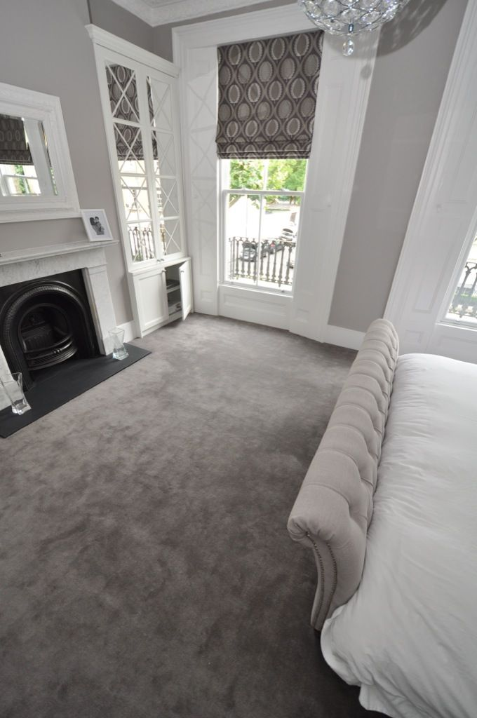 new carpet ideas elegant cream and grey styled bedroom. carpet by bowloom ltd. JTFHXTV