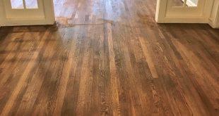 oak floors adventures in staining my red oak hardwood floors red oak vs white oak GXIXTYQ
