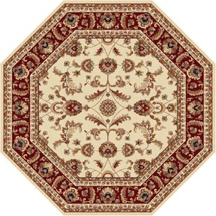 octagon rugs clarence beige area rug BOCSXYD
