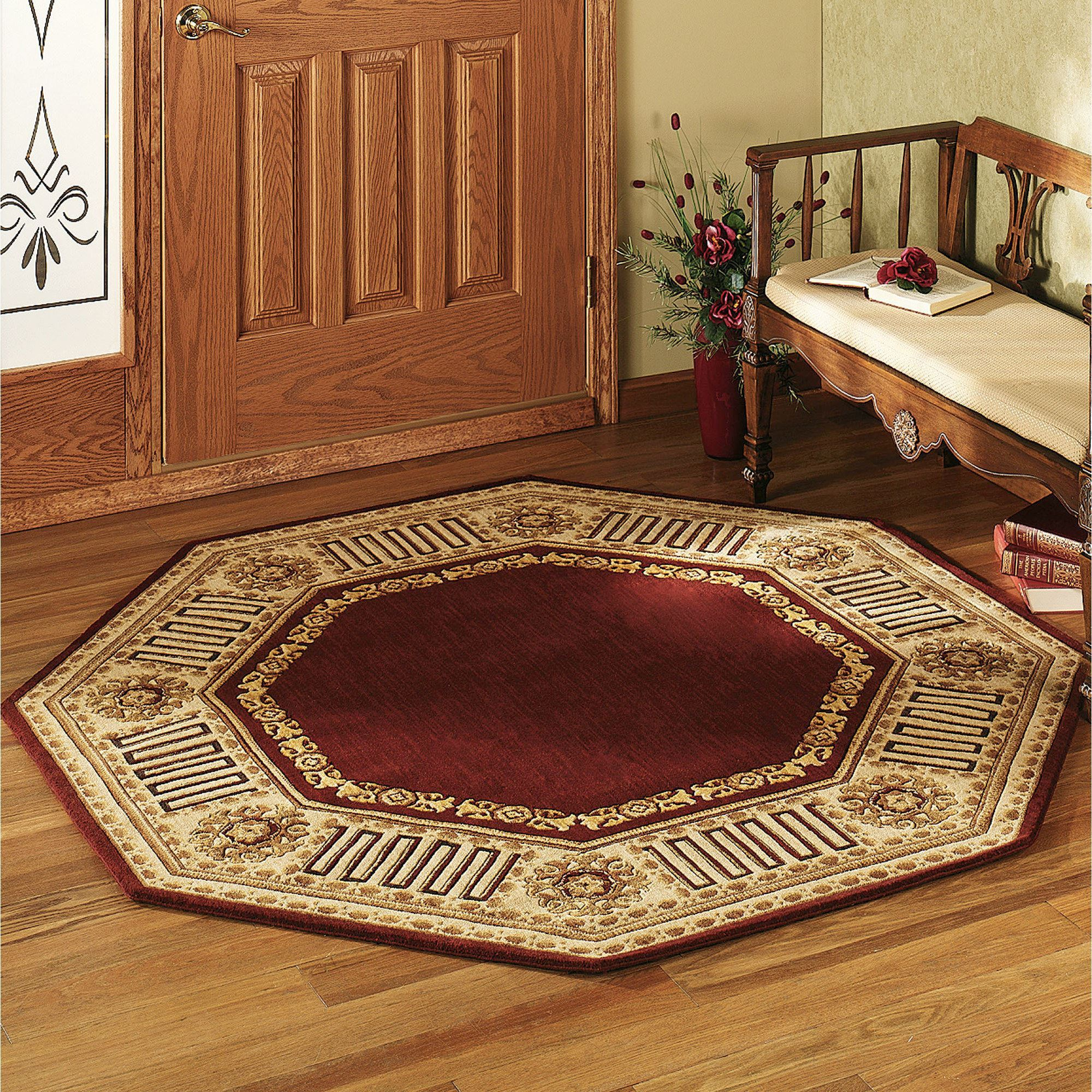 octagon rugs greek key octagonal rug UBUQEUP