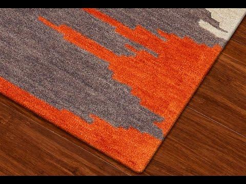 orange rugs orange area rug | orange area rug with white swirls - youtube HINTIWU