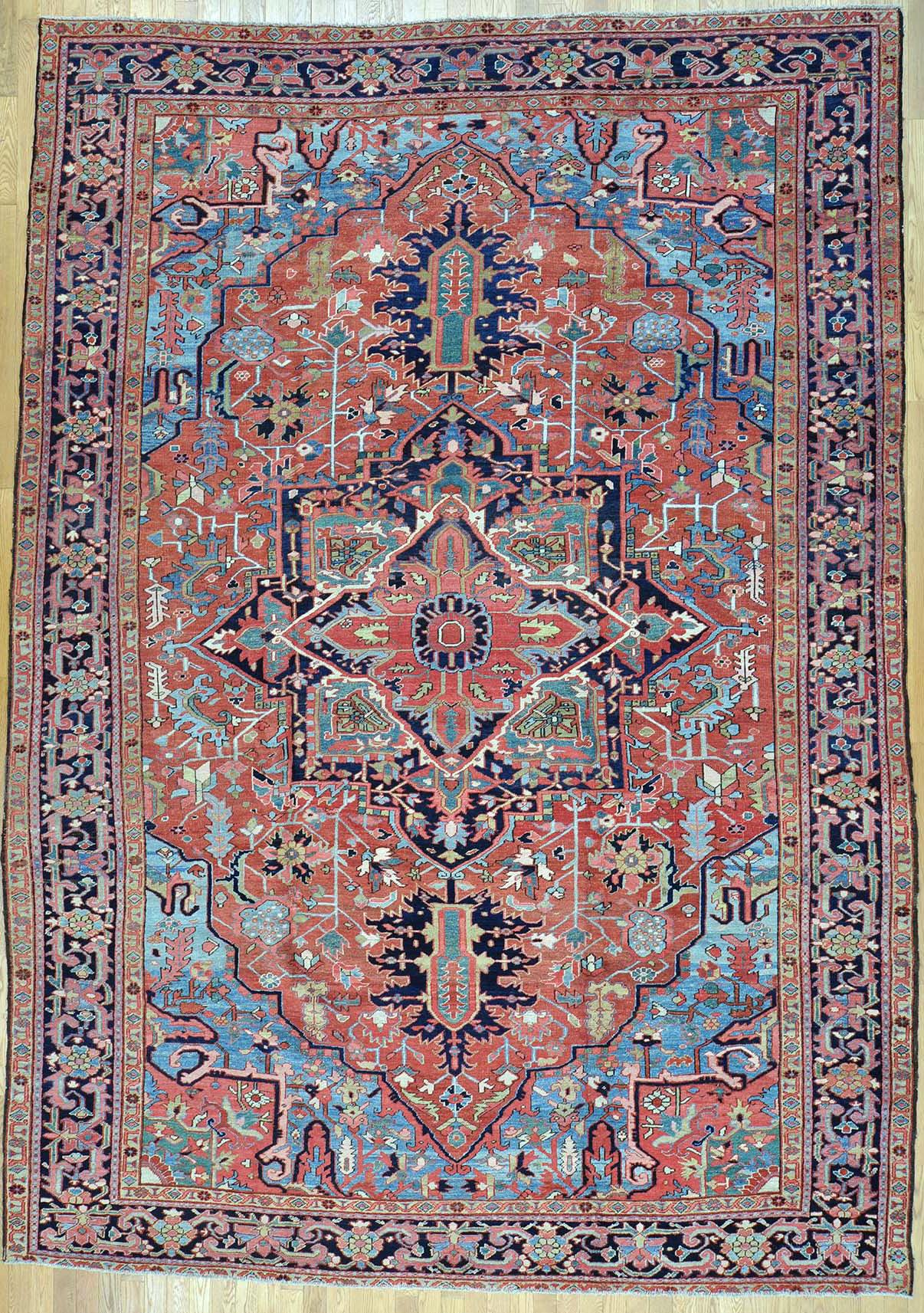 oriental carpets heriz persian rug ZINGANU