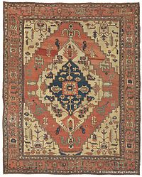 oriental carpets left image: silk tabriz persian rug with a predominantly curvilinear  design. right QTVMRFF
