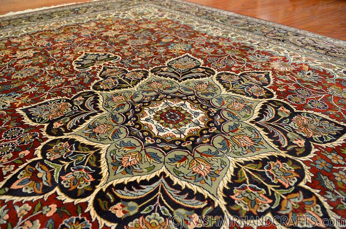 oriental carpets red-isfahan-silk-on-silk-rug-burgundy-maroon-traditional-carpet-oriental- carpets-museum-quality-handknotted-area-rugs-accent-medallion-persian-style-fine-  ... TZMLTOY