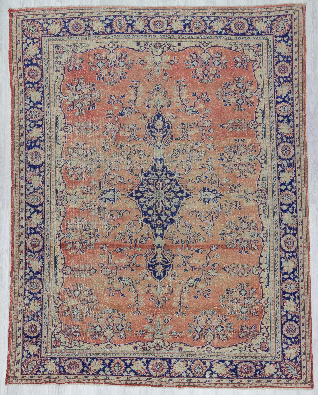 oushak rugs 1682-vintage-oversized-turkish-oushak-rug DXFHYJO