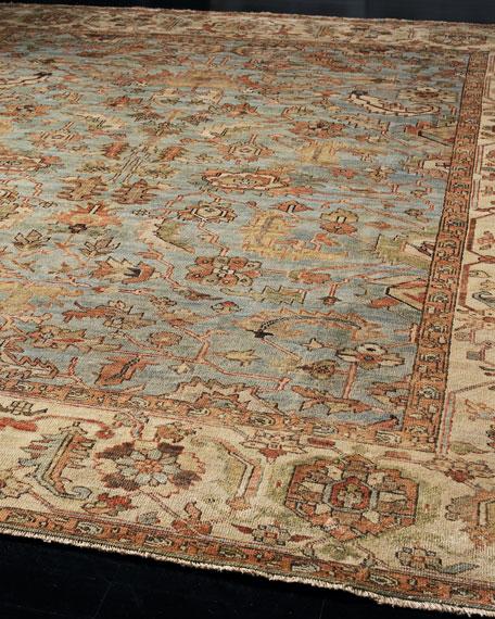 oushak rugs exquisite rugs seaside oushak rug, 10u0027 x 14u0027 TFJWZFT