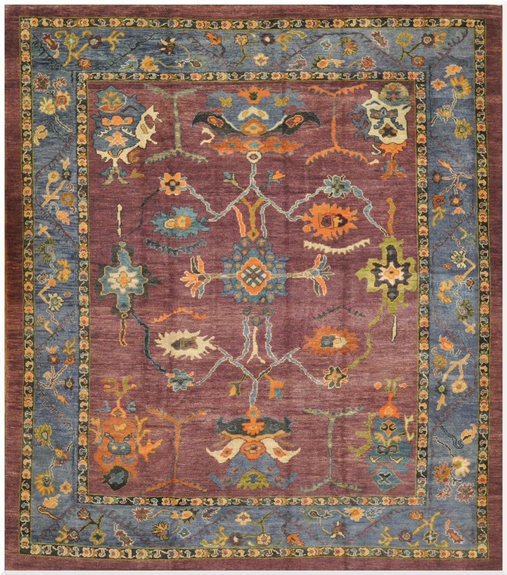 oushak rugs large handmade oushak rug AYSGOYU