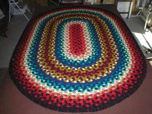 oval braided rugs colorful oval braided rug SMAYSWL