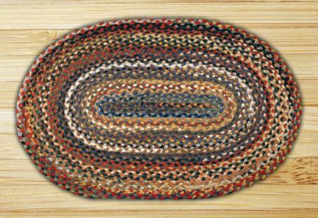 oval braided rugs random colors oval braided rug 20. email a friend ASXUTVD