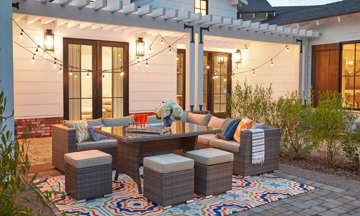 Patio rug how to keep outdoor area rugs looking new DWZJWEQ