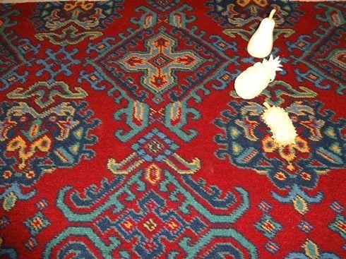 Patterned carpets turkey smyrna axminster carpet 80% wool and 20% nylon - red sheme - JHMKKTP