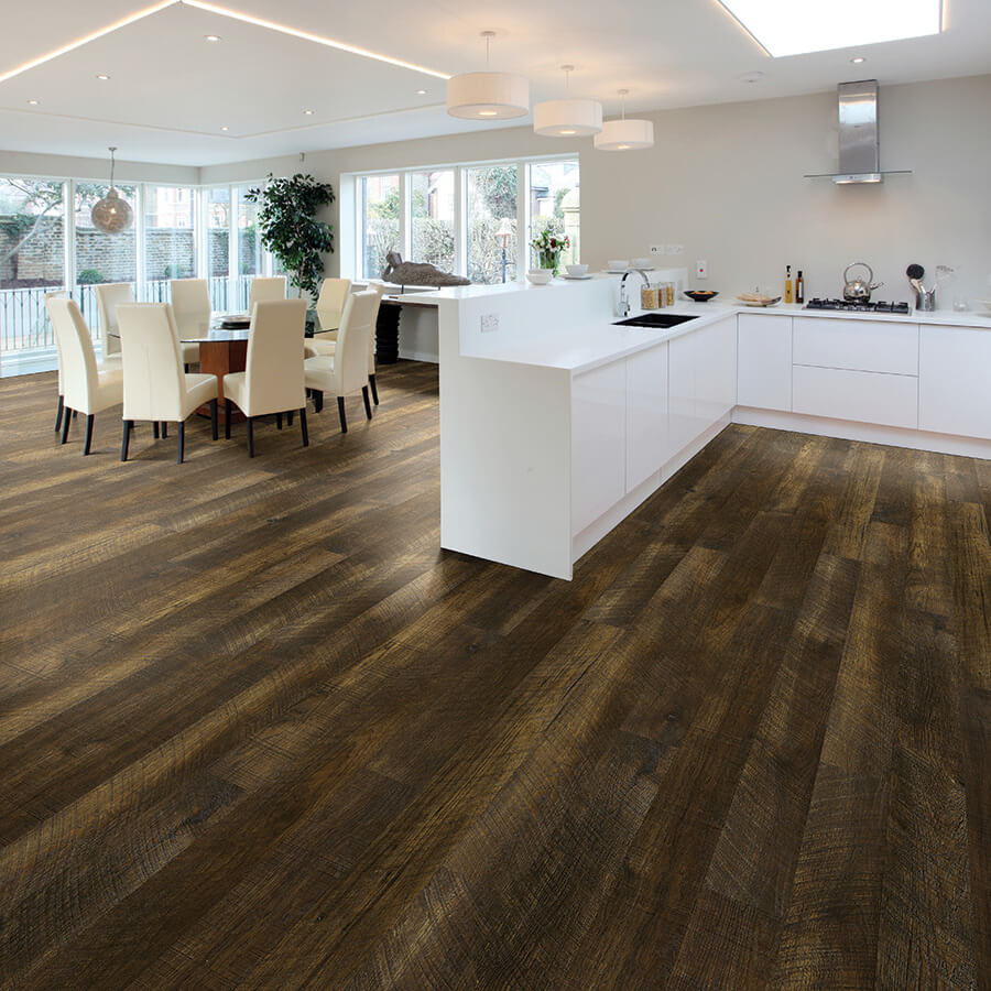 plank flooring courtier: baroness, hickory CBRXJNF