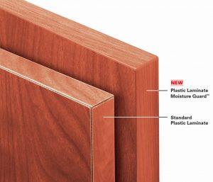 plastic laminate astm tests on moisture guard edge banding confirms durability with more  resistance XSBQCVI