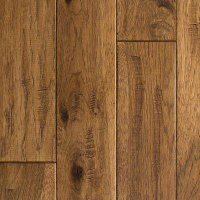 prefinished wood flooring hickory vintage barrel hand sculpted 3/4 in. t x 4 in. w · CRHYBVM