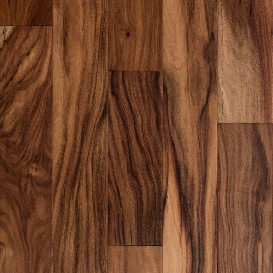 prefinished wood flooring style selections 5-in natural acacia engineered hardwood flooring (32.29-sq  ft) PPGPZQH