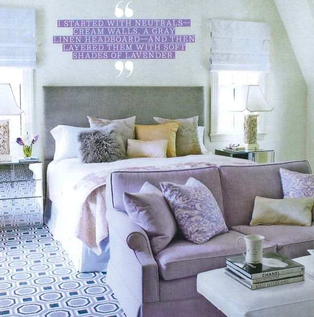prestige mills carpet lovely lavenders and plush fabrics sit nicely on top of @david hicks carpet ARMKWEV