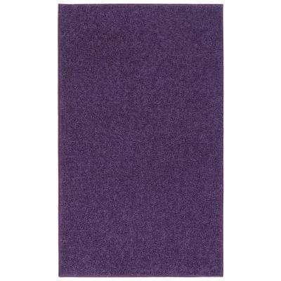 Purple area rug ourspace bright purple 5 ft. x 7 ft. indoor area rug HJSTNCQ