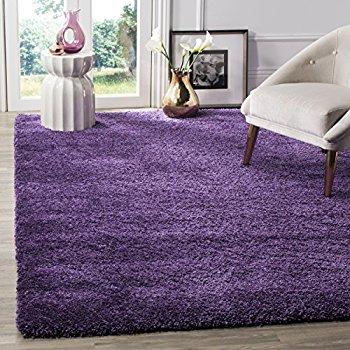 Purple area rug safavieh milan shag collection sg180-7373 purple area rug (4u0027 x ... OTZHHJG