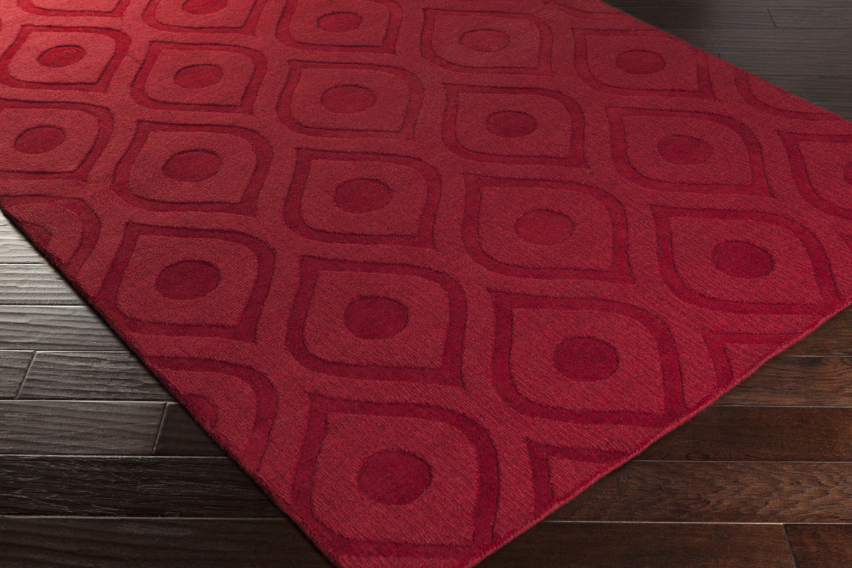 Red area rug artistic weavers central park zara awhp4001 red area rug ANJIOXH